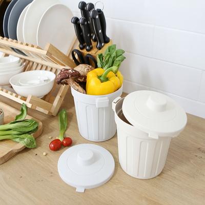 싱글라이프 냉동보관 밀폐형 미니 음식물 쓰레기통 1L