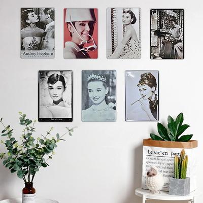 7세트 오드리햅번사진 벽걸이장식