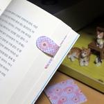 [자석자동책갈피] 자동책갈피 수지인M 별이 벚꽃