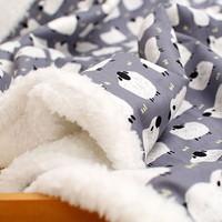 양 무늬 담요-2size