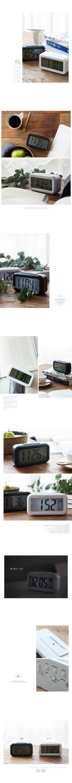 센서라이트 디지탈시계(2color)-annahouse - 안나하우스, 18,000원, 알람/탁상시계, 디자인시계