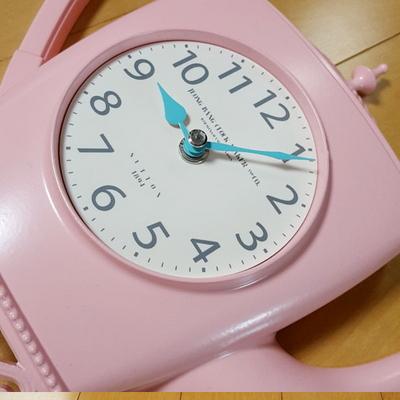 에밀리아 티포트 시계(핑크)