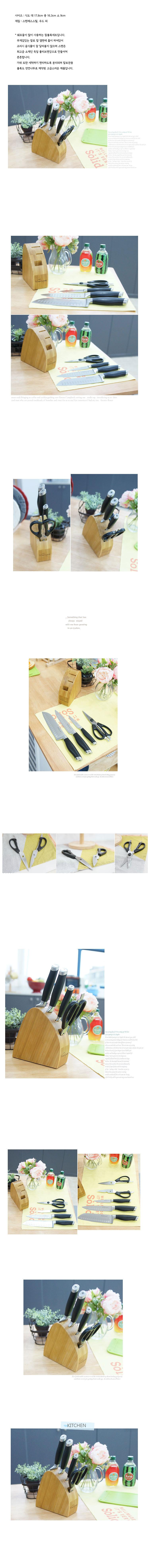 스타클래스 칼블록 5P세트 - 안나하우스, 230,000원, 칼/커팅기구, 칼 꽂이