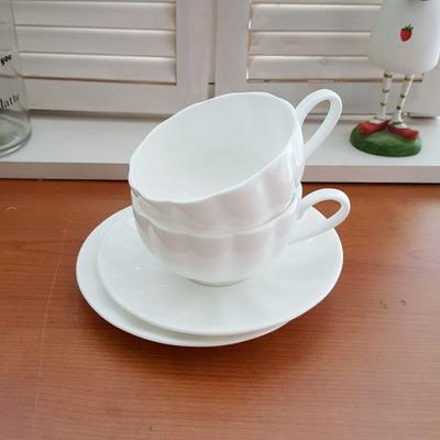 호박 커피잔 2인세트