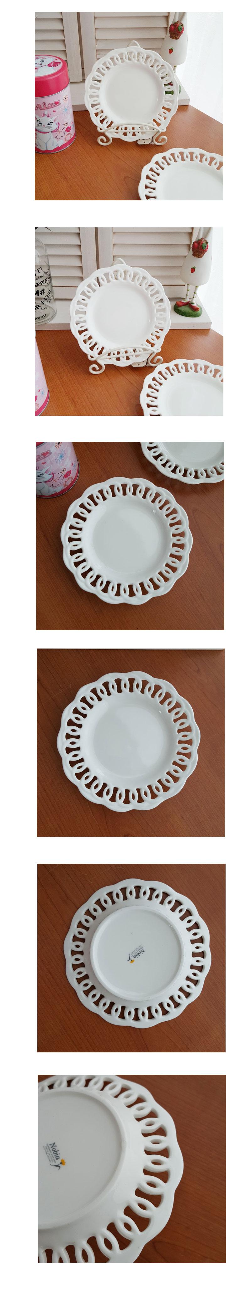 레이스 접시 1p - 안나하우스, 14,000원, 접시/찬기, 접시