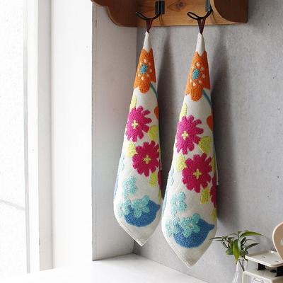 플라워 주방 수건 1P - 3color