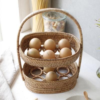 라탄 계란 바구니 annahouse