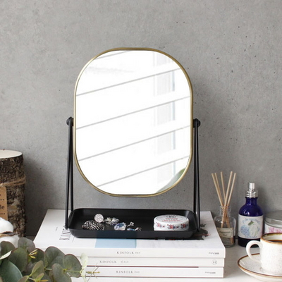 스탠드 사각 거울 (5884)