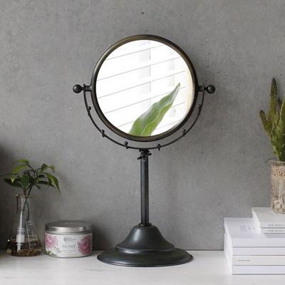 탁상용 실버 아이언 거울
