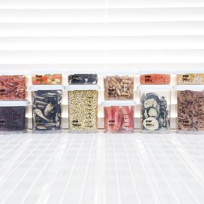 센스 스텝 냉장고 포켓용기 12개세트 (7.5L)