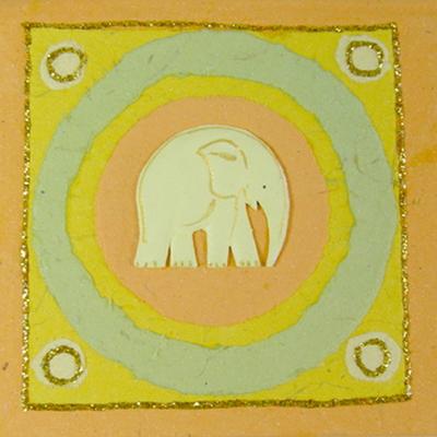 M.I.W 코끼리 똥종이 메모패드