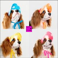 펫펑크 강아지 모자 도트썬캡 4종-애견시력보호