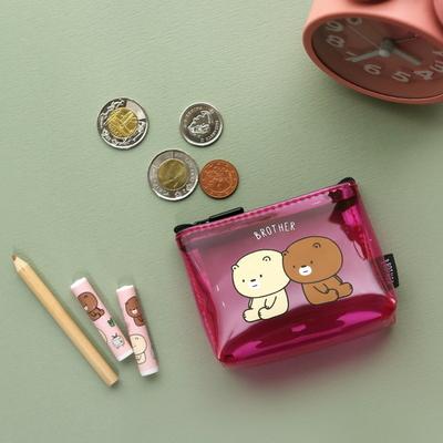 3000 브라더 투명 동전지갑 (랜덤발송)
