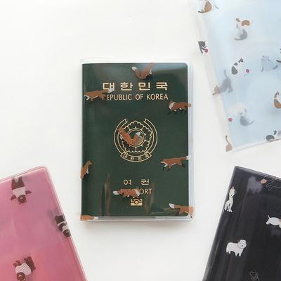 3000 헤이 투명 여권케이스