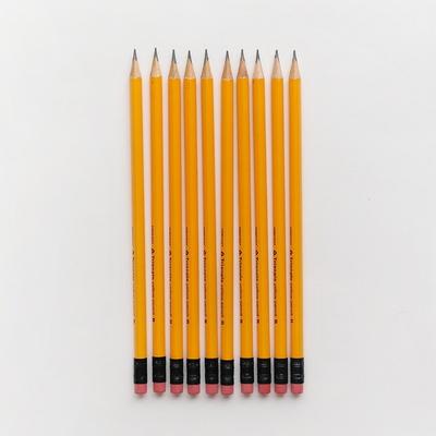 3000 노랑 삼각 연필 10본세트 ver2
