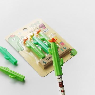 1000 선인장 연필캡 3p