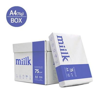 복사용지A4(75g/밀크/500매X5권/박스)