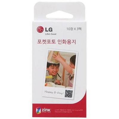 LG포켓포토 전용 필름(일반/30매/PD2203/LG)