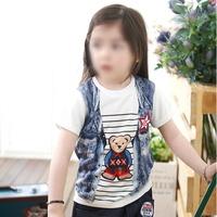 [디쿠] 곰 나염 유아 티셔츠 반팔
