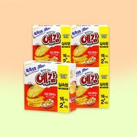 오리온 예감 치즈그라탕 18p x 4통 / 감자칩