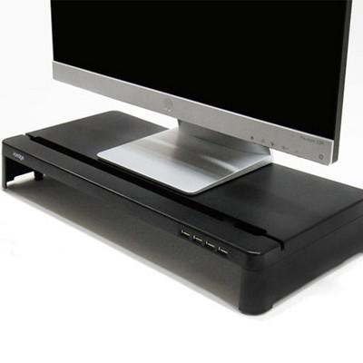 i-bridge 모니터 받침대 + 4포트 허브 MC-300 HUB