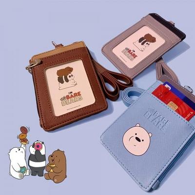 [위베어베어스] 심플목걸이카드지갑8000