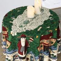 크리스마스 원형 테이블보
