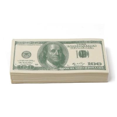 100달러 티슈