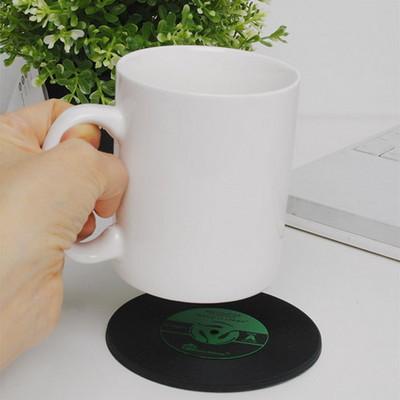 실리콘 레코드 컵 받침대