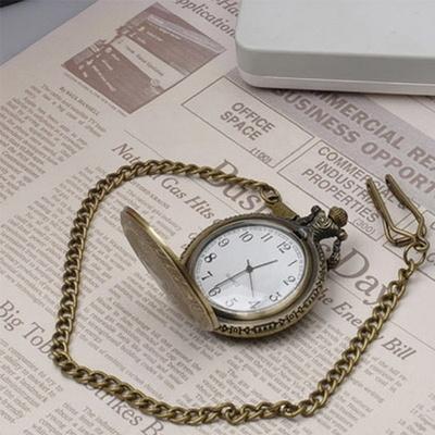 진바스 고급스런 앤틱 회중시계 (4.8cm)