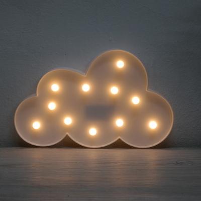 LED 구름 장식 무드조명