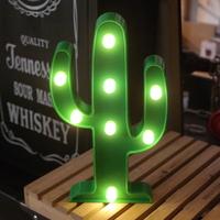 선인장 LED 무드조명