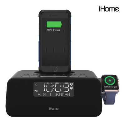 아이홈 도킹 블루투스 스피커 아이폰 와치충전가능 Dock BT Speaker-Triple Charge
