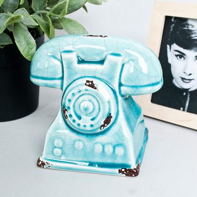미니청자 전화기 장식