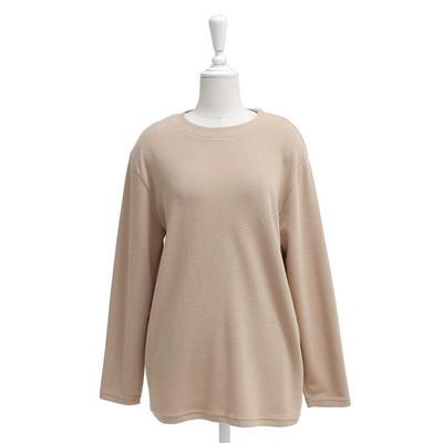 빅사이즈 솔리드 라운드넥 티셔츠 WB417