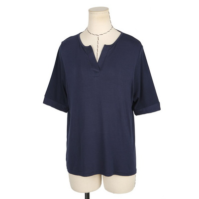 빅사이즈 브이넥 반팔 티셔츠 BRS561