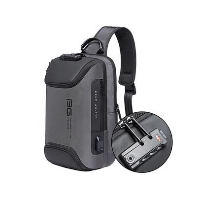 스마트락 USB 충전 메쉬 슬링백 DBCG 8193