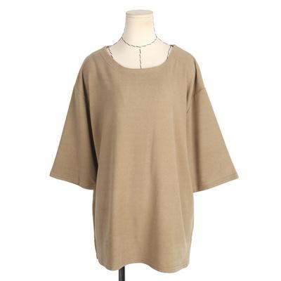 빅사이즈 가오리핏 소프트 티셔츠 RD436
