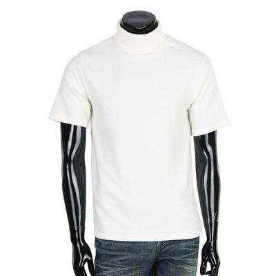 남성 반팔 목폴라 티셔츠 COT-MB854R