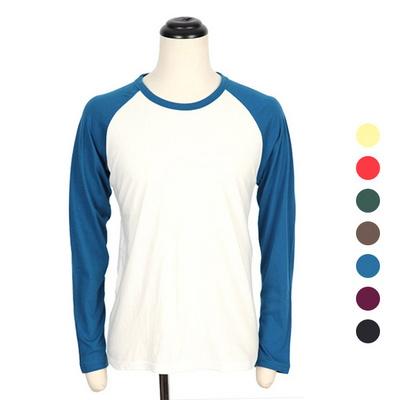 무지 긴팔 나그랑 티셔츠 COT-MZ170