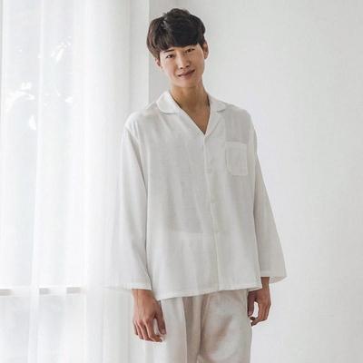 하트 쟈카드 은사실선 남성잠옷 BNBR-M062