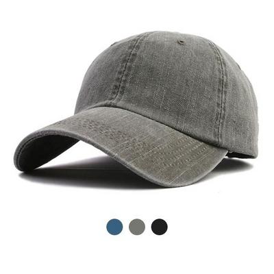 워싱 볼캡 모자 HN408