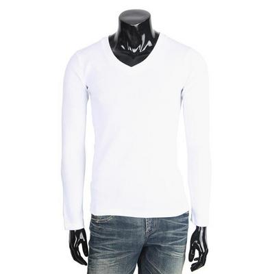 후라이스 브이넥 남성 긴팔 티셔츠 MGB898