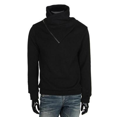 기모 지퍼 터틀넥 티셔츠 MZ055