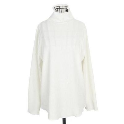 빅사이즈 골지 폴라 티셔츠 NB241