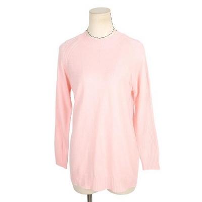 빅사이즈 소매골 라운드넥 티셔츠 A072