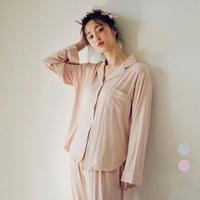플레인 모달 투피스 여성잠옷 W419