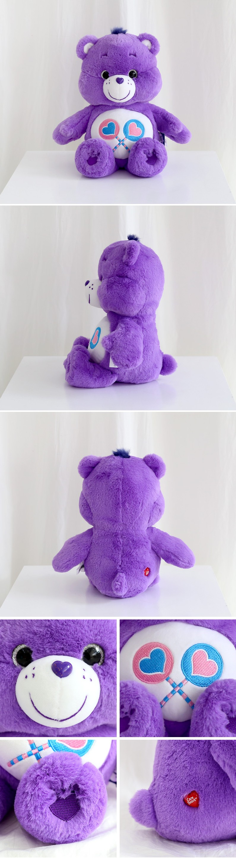 케어베어 봉제 인형 30cm 퍼플 (쉐어 베어) - 리락쿠마돌스, 11,900원, 캐릭터인형, 게임/애니메이션
