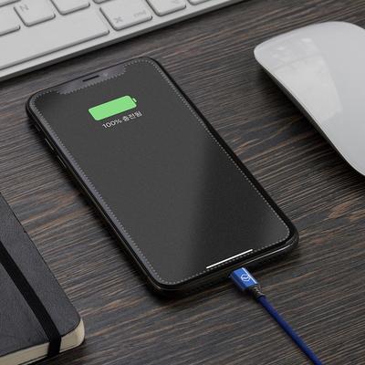 1+1 신지모루 더치패브릭 아이폰 고속충전 케이블