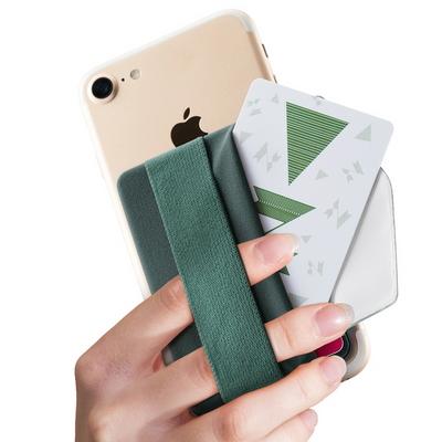 신지모루 신지파우치 밴드플랩 카드수납 케이스 파우치 밴드형 휴대폰 홀더